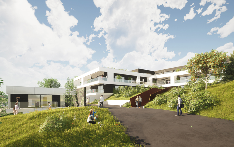 programme immobilier parc bellevue mont-saint-aignan